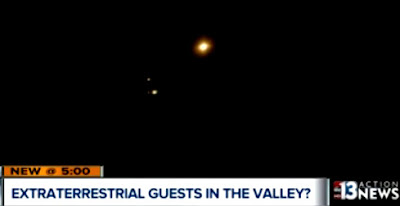 UFOs Videotaped Over Las Vegas Valley 2-5-17