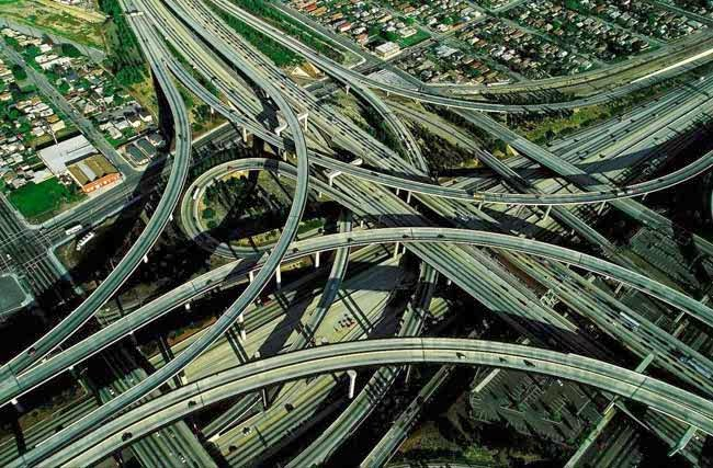 Persimpangan Jalan di Los Angeles