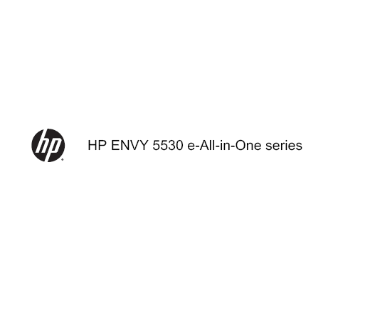 HP ENVY 5530 Manual