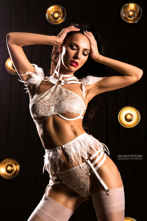 Perverted Angel Lingerie Set Cupid Sexy Role Play White Images 1