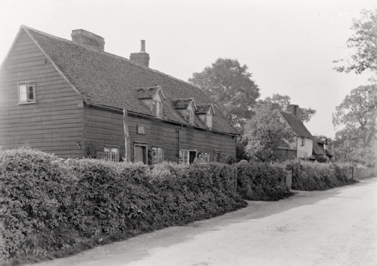 Photograph of Pancake Hall Cottages, Dixons Hill, demolished in the 1900s