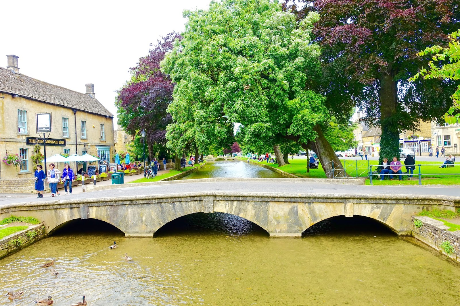 Bourton-on-the-water the little venice of the cotswolds