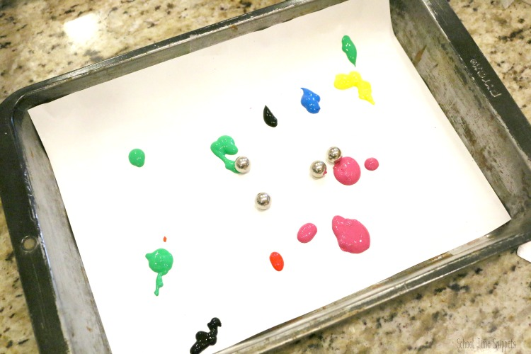 Marble Painting with Kids