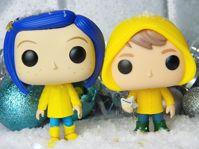 Funko Pop Coraline In Raincoat George Horror IT