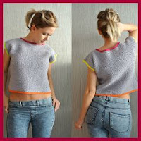 TOP SENCILLO A CROCHET