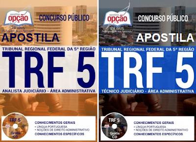 Apostila Concurso TRF5 - Tribunal Regional Federal da 5ª Região