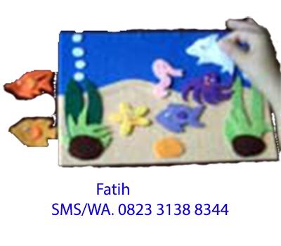 Game Edukasi Anak Playboard Flanel Di Laut