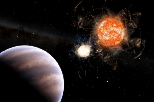 Astronomers find evidence of a planet with a mass almost 13 times that of Jupiter
