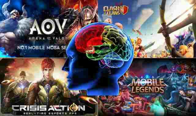 Bahaya game online untuk otak Manusia