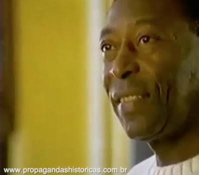 Propaganda do Pelé para a Nokia em 1998