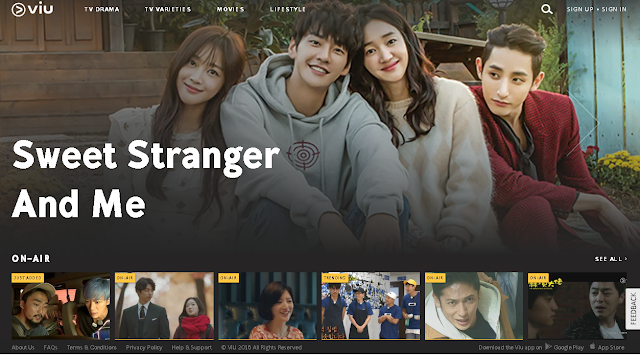 Viu - December 2016 Update Drama Shows and Movies