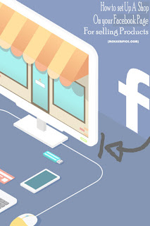 sell product in Facebook