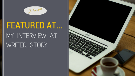 Interview with @jolinsdell at @WriterStoryCom #AuthorInterview #Writing