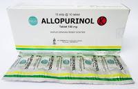 Ketahuilah obat di apotik yang dianjurkan bagi penderita gout