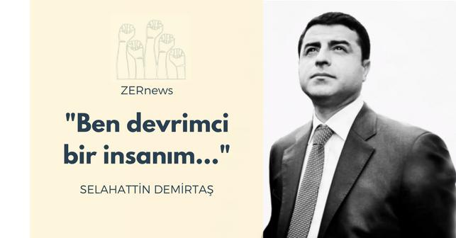 Selahattin Demirtaş HDP Eş Genel Başkanı Cumhurbaşkanlığı Seçimi
