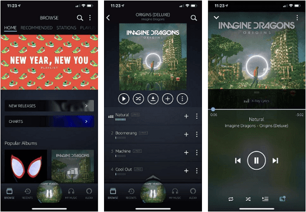 أيهما أفضل Spotify أو Apple Music أو Amazon Music Unlimited ؟