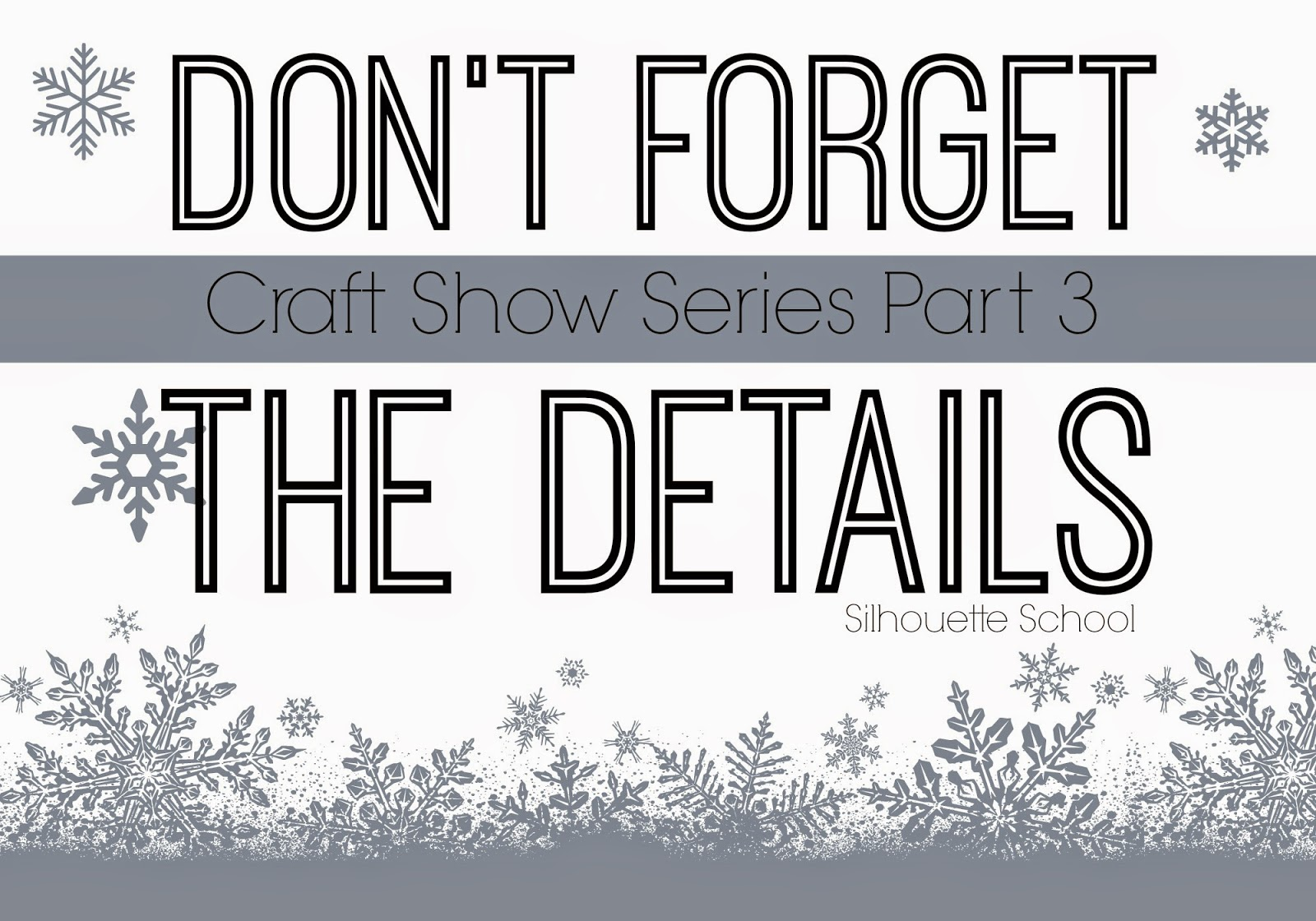 Craft show, details