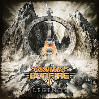 """Οι Bonfire διασκευάζουν το """"Eye Of The Tiger"""" στον δίσκο """"Legends"""""""