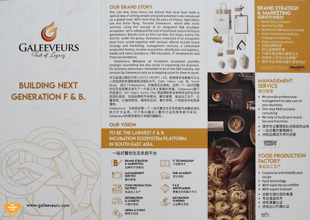 Galeeveurs Bhd F&B Services