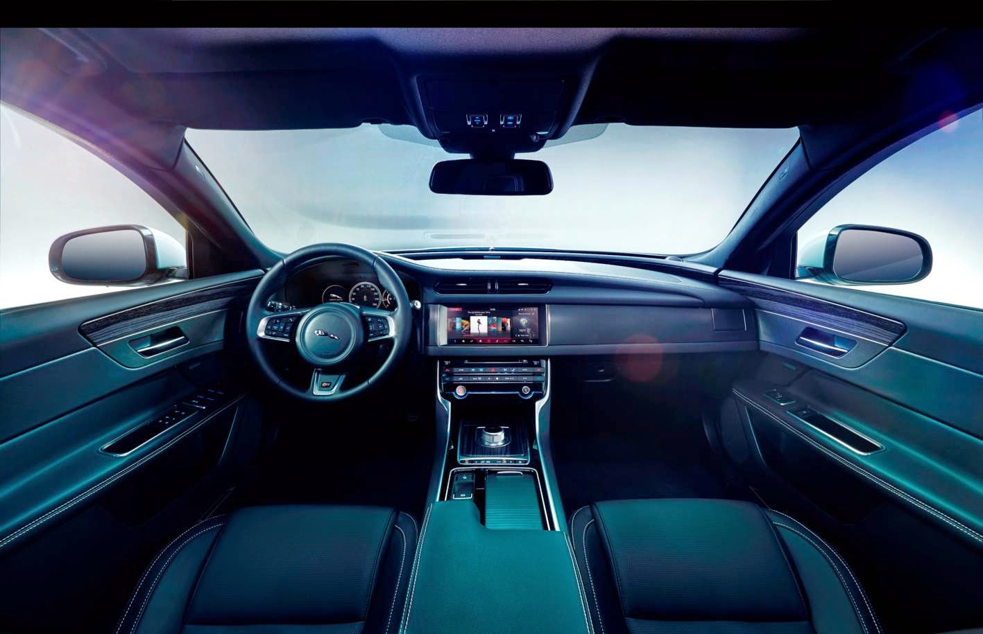 New Jaguar XF interior
