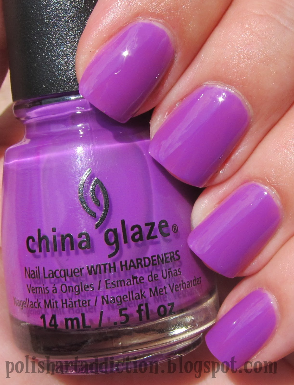 China Glaze - Are You Jelly? & You Drive Me Coconuts