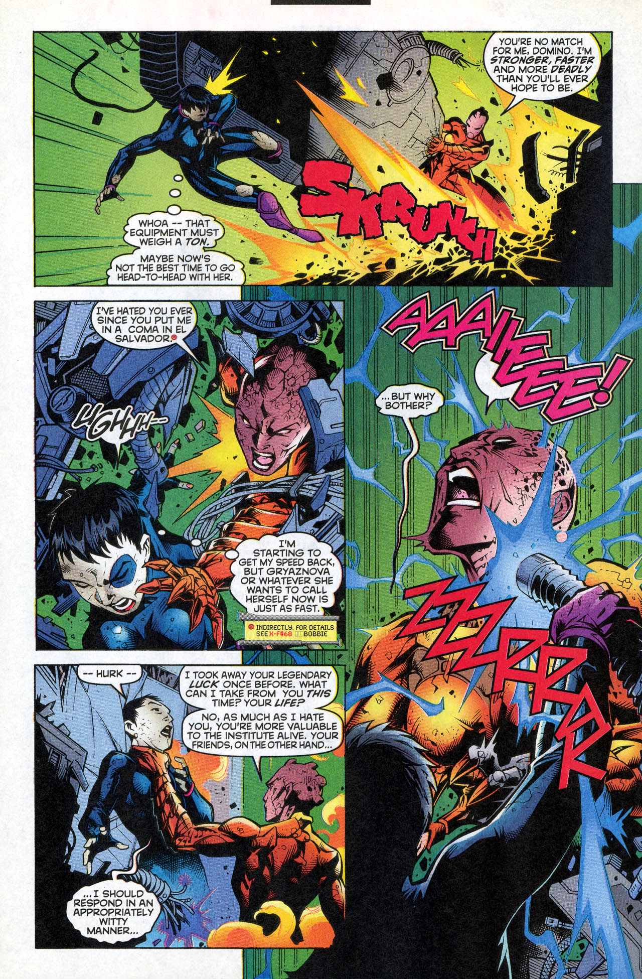 Read online X-Force (1991) comic -  Issue #82 - 29