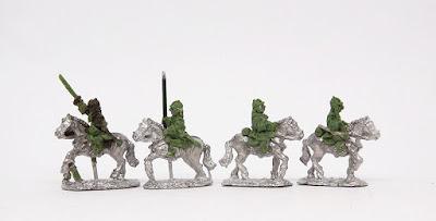 Austrian Cuirassiers x 4