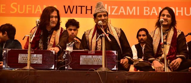 Shadab Faridi Nizami, Ustad Chand Nizami, and Shorabh Faridi Nizami