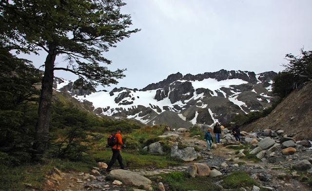 Glaciar Martial em Ushuaia