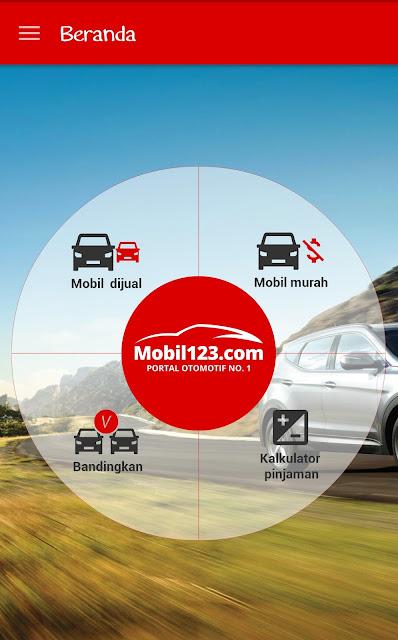 Aplikasi Android mobil123
