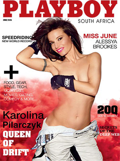 Revista Playboy Sudafrica-Junio 2015 PDF Digital