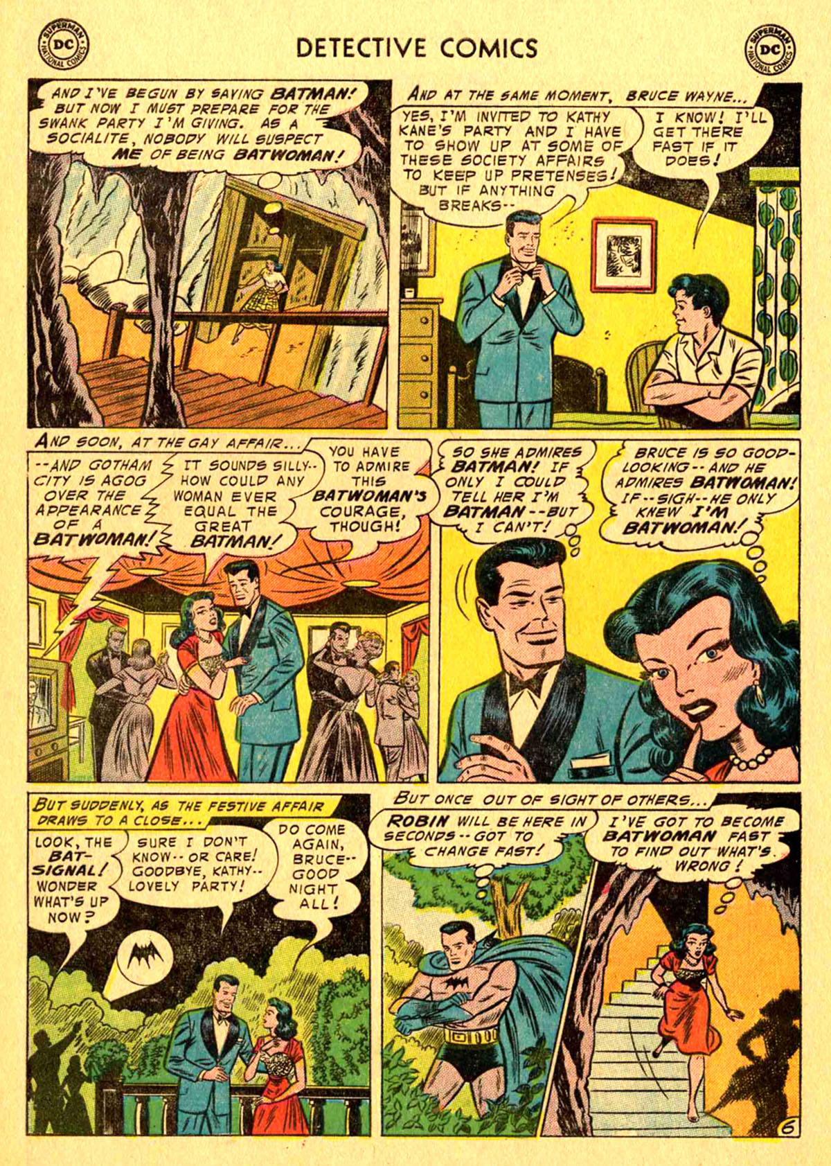 Read online Detective Comics (1937) comic -  Issue #233 - 8