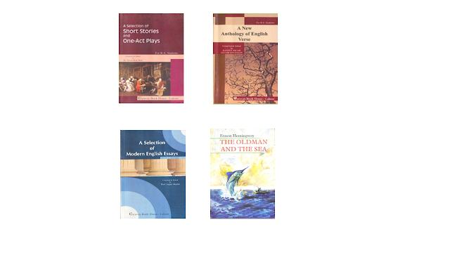books of ba english