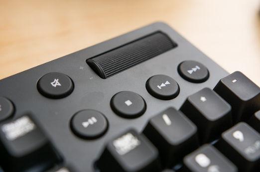 Tastiera PC con tasti multimediali dedicati