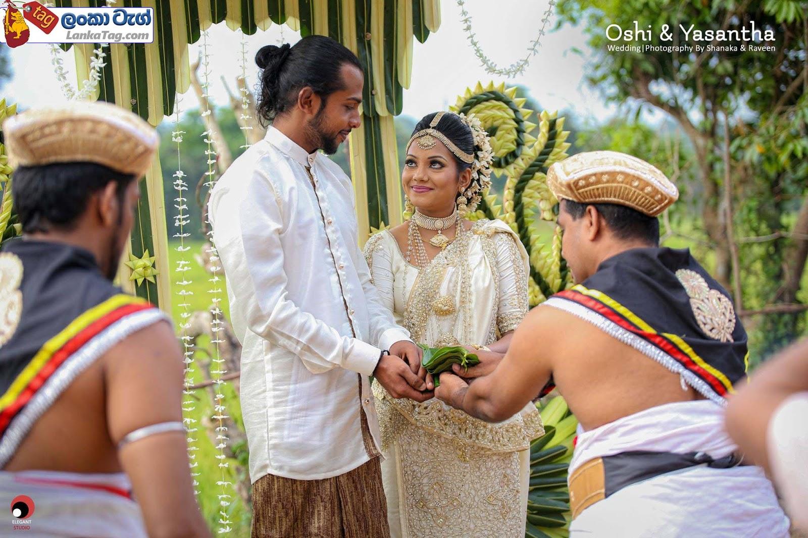 sri lankan wedding dress  6
