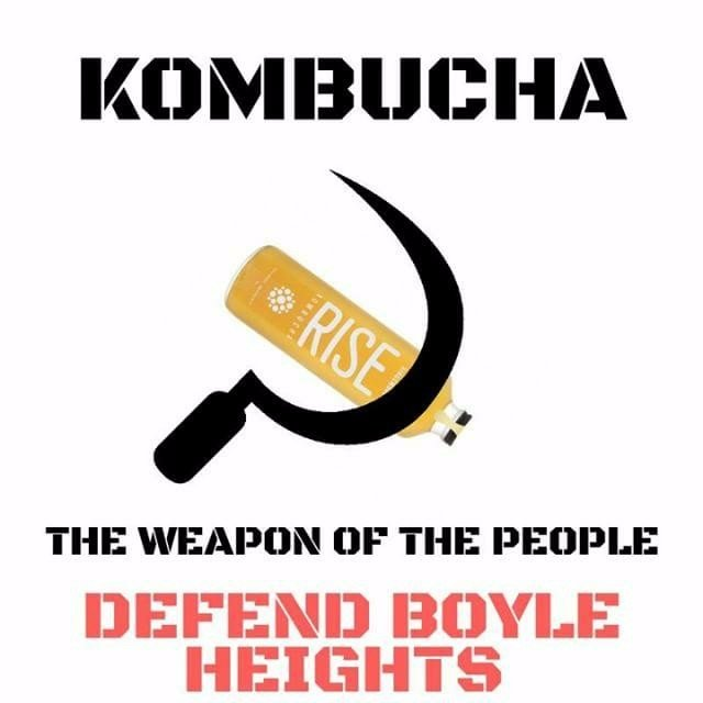 3a2f508f826 We were now attending meetings to hear how the O.V.A.S. were deeply  offended by a Kombucha hammer and sickle meme sent to us by a supporter.