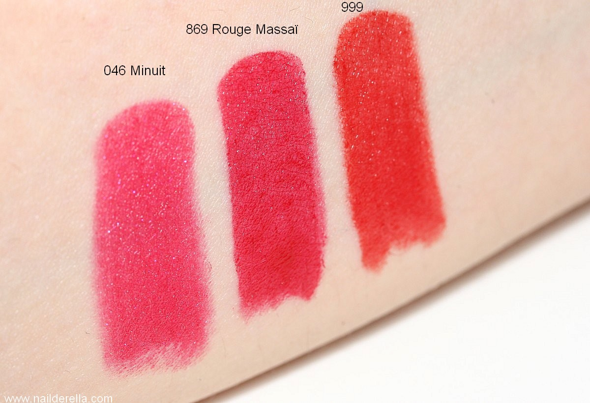 Dior Rouge 999 Nail Polish Swatch - Creative Touch