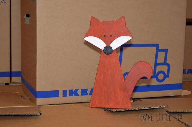 Fuchs aus Holz