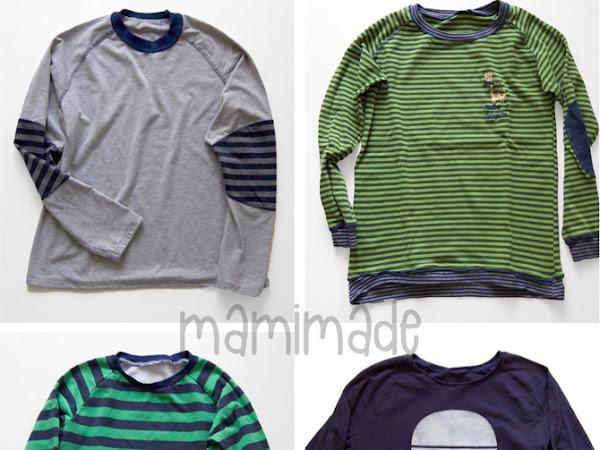 Die Boys Winterkollektion an Shirts