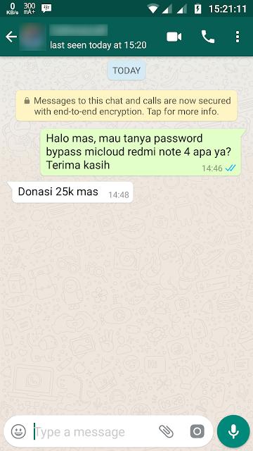 Cara Bypass Mi Cloud Redmi Note 4X Mido Gratis & Ampuh