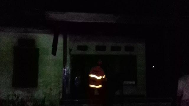 Satu Rumah Terbakar di Jalan C. Heatubun