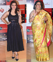 Manara Chopra with her mother Walk the Red Carpet of Zee Awards 2017i ~  Exclusive Galleries 030.jpg