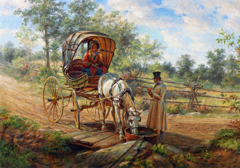 Edward Lamson Henry ~ Pintura de gênero