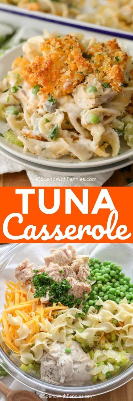 Easy Tuna Casserole