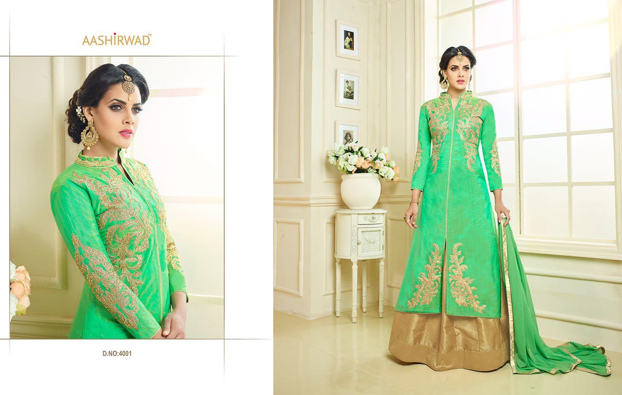 PANIHARI VOL-4–Designer Banglori Silk Salwar Suit