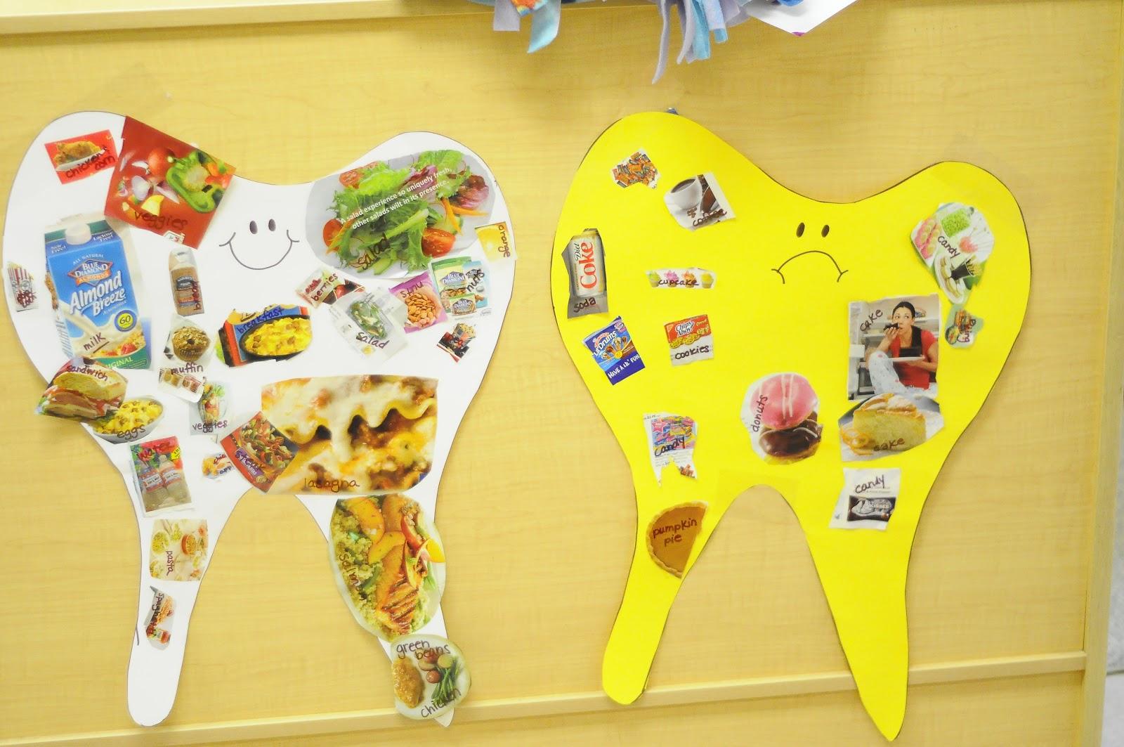 Foods Bad For Teeth Worksheet Preschool