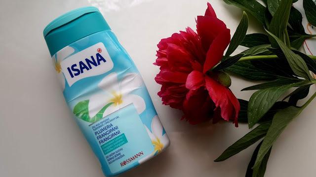 Isana, żel pod prysznic o zapachu białych kwiatów