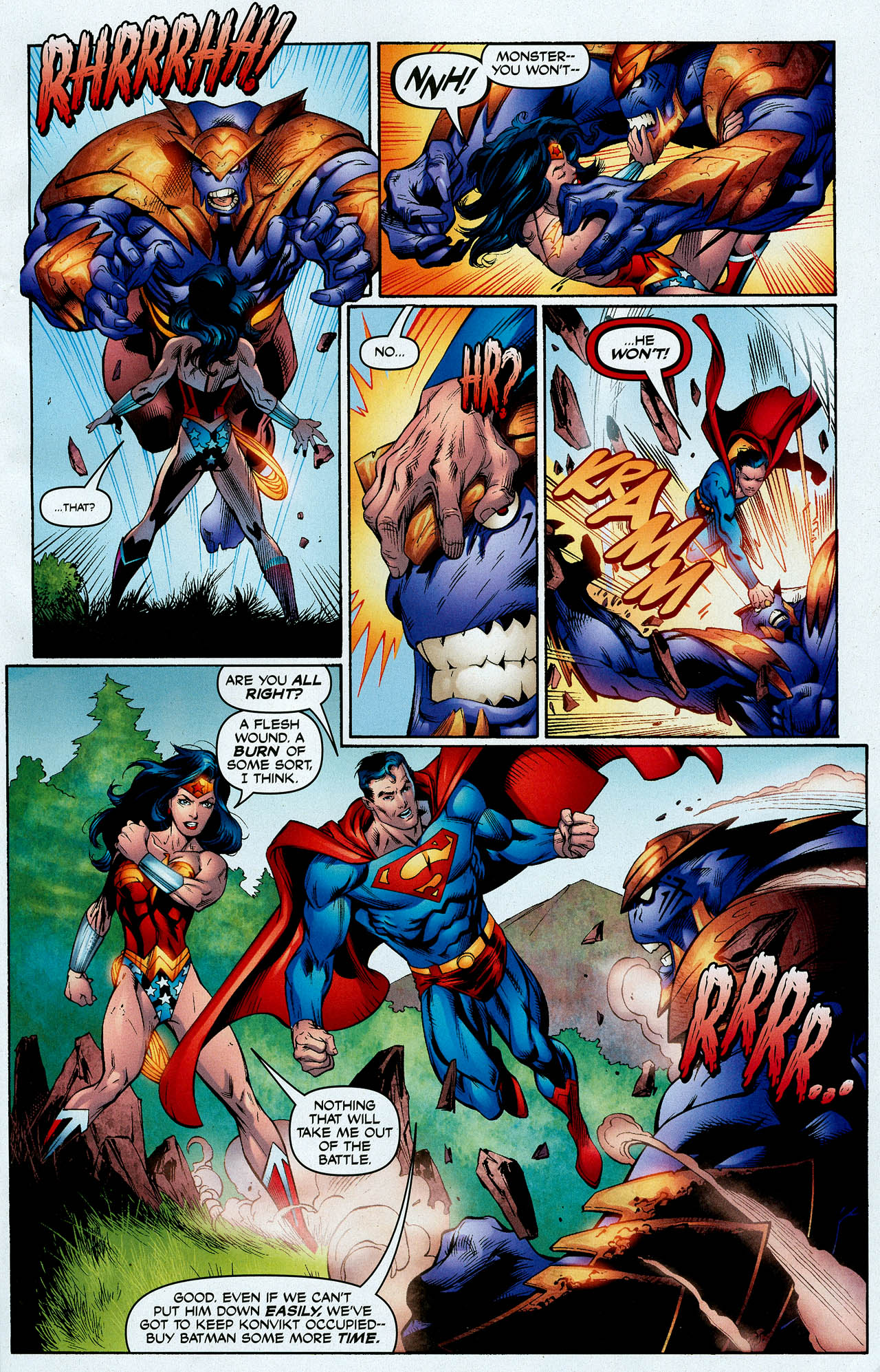 Read online Trinity (2008) comic -  Issue #4 - 15