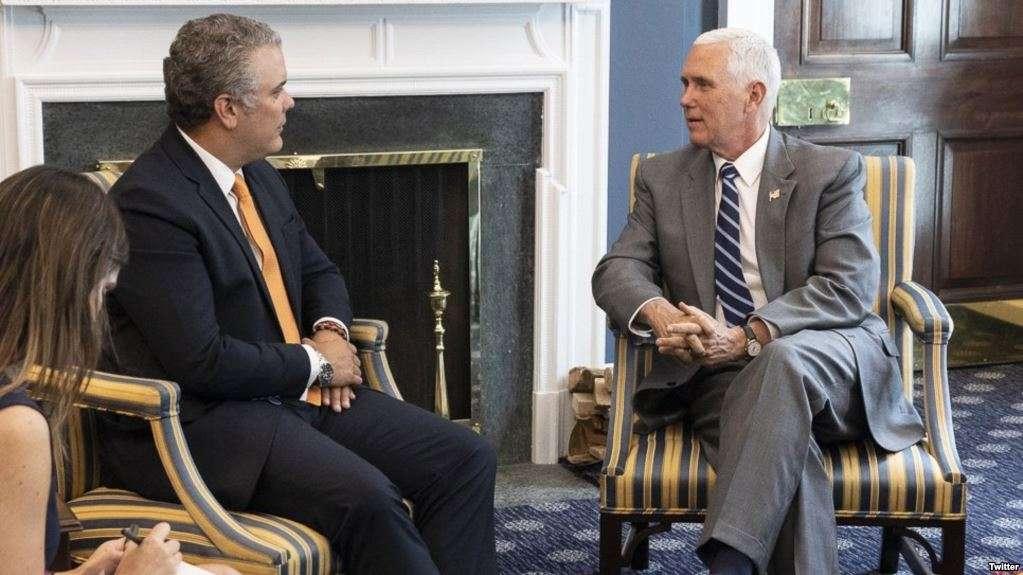 La relación entre Colombia y EEUU se vio fortalecida desde la elección de Duque / TWITTER