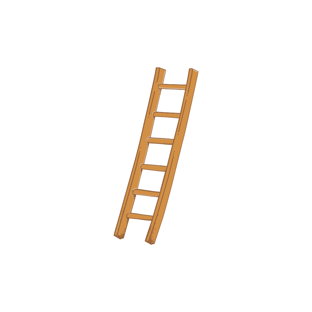 Wood Stairs Railing Icon Png